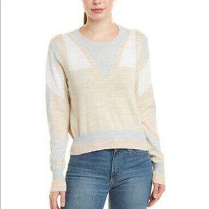 Wildfox Lair Sweater Crewneck Beige NWT M